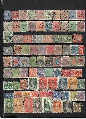 Netherlands -  Lot Of Early Used Stamps (NETH111V)