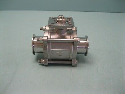 "2"" Dixon 1000# WOG Sanitary SS Ball Valve NEW D20 (2498)"