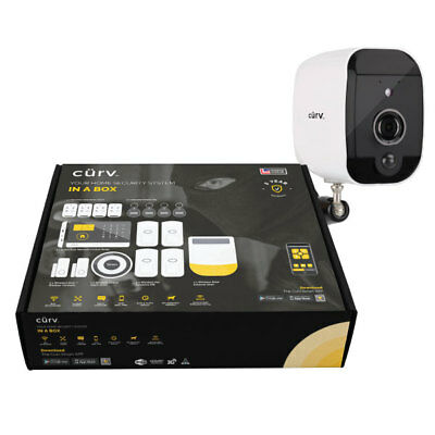 BUNDLE 1080p HD CCTV Wireless Security Camera & Wireless Smart Home Alarm System