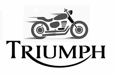 high detail airbrush stencil triumph motorcycles  FREE UK POSTAGE