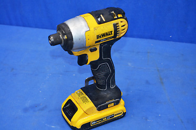 "DEWALT DCF885 1/4"" 20v Impact Driver w/ Battery & Charger GREAT CONDITION USED"