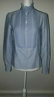 95b14dc357 SEE BY CHLOE Woman Blouse Shirt Size 36, Ice Blue Long Sleeve