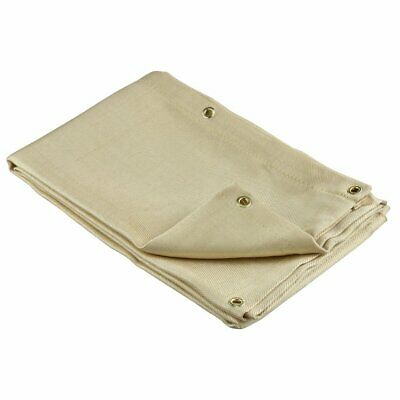 Neiko 10909A Heavy Duty Fiberglass Welding Blanket and Cover with Brass Grommets