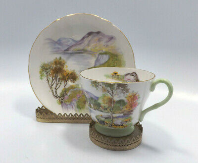 Shelley Fine Bone China English Lakes Tea Cup & Saucer