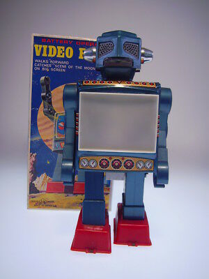 "GSR ""VIDEO ROBOT"", HORIKAWA JAPAN, 24cm, BO OK, LIKE NEW/NEU/NEUF IN BOX I"