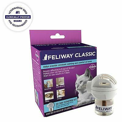 Feliway Calming Plug-In Diffuser and Refill for Cats 48 mL