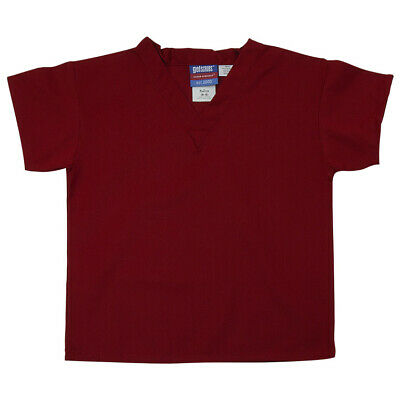 Gelscrubs Kids Crimson Scrub Shirt, Medium (6-8 Years Old) 6774-CRI-M