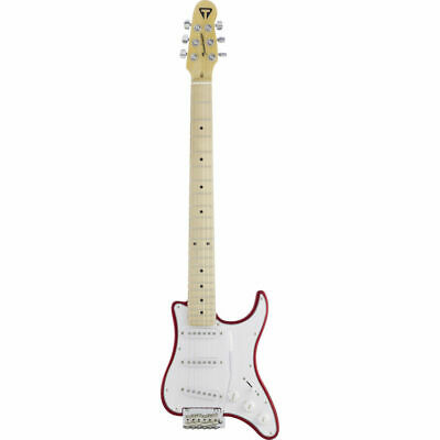 New Travelcaster Electric Guitar With Gigbag Case Candy Apple Red Tcd Carmt