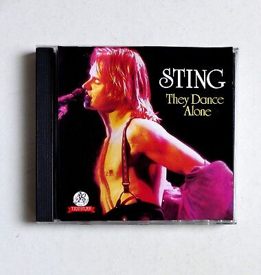 STING - They Dance Alone - rare live CD collector ( Police )
