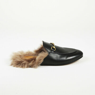 c28ae940e67 NEW PRINCETOWN HORSEBIT Genuine Rabbit Fur Lined Embroidery Tiger ...