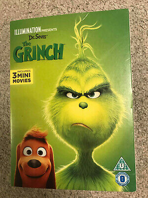 Dr Seuss The Grinch DVD New Sealed
