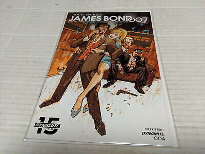 James Bond 007 # 4 Cover A (2019, Dynamite) 1st Print