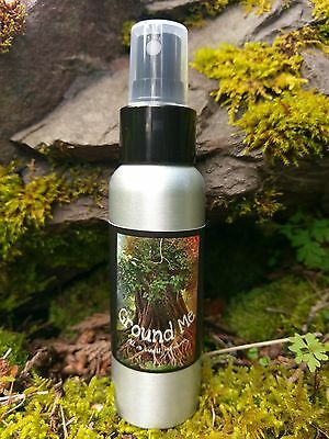 Palo Santo GROUNDING SMUDGE SPRAY Sacred AURA CLEANSING Spacing Clearing 2.7oz