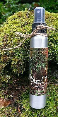 Palo Santo GROUNDING SMUDGE SPRAY Sacred AURA CLEANSING Mist Space Clearing 4oz