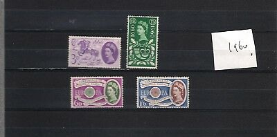 1960 MNH Great Britain, commemorative year collection