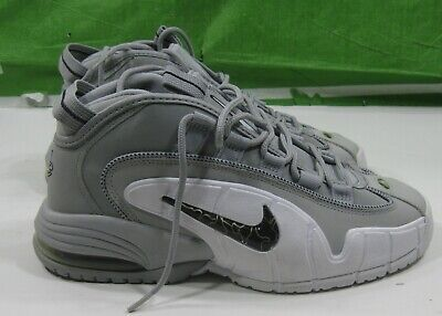 buy online c1eb0 b8fc5 Nike Air Max Penny Wolf Grey black-white 311089-003 Men s Size 8