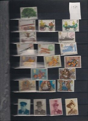 1974 MNH Great Britain, commemorative year collection