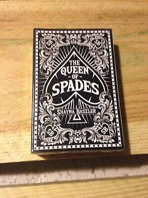 Shayna Baszler Queen of Spades Playing Cards Pro Wrestling Crate Exclusive