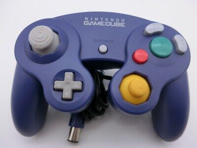 Nintendo Official GameCube GC Wii Switch Controller Pad Purple Japan 420-1