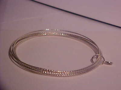 Women's Marked Silpada 925 Sterling Silver 7 Thin Attached Bangle Bracelets