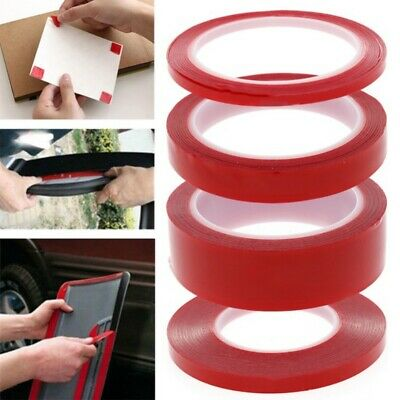 Multifunctional Double Sided Strong Sticky Heavy Duty Adhesive Acrylic Tape Red