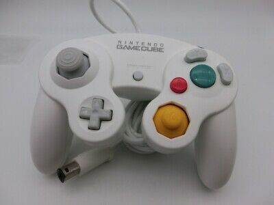 Exc Nintendo Official GameCube GC Wii Switch Controller Pad White Japan 413-1