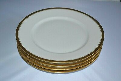 4 Vintage Wm Guerin & Co Limoges France Dinner Plates 9 3/4""