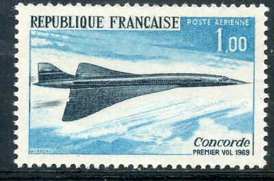 Stamp // Timbre De France Neuf Pa N° 43 ** Le Concorde