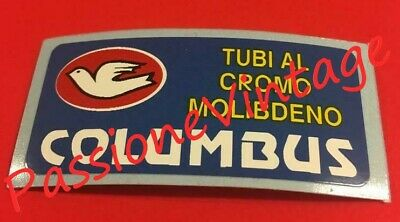 Columbus tubi al cromo decalcomanie//stickers//adesivi