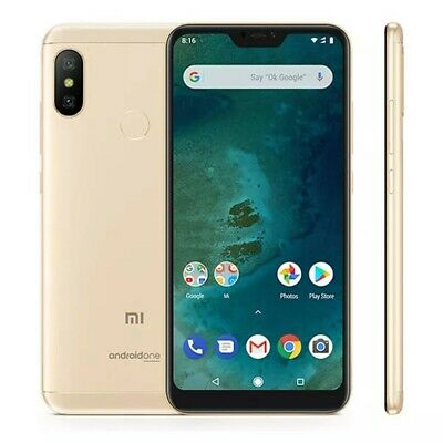 Xiaomi Mi A2 Lite 5.84 inch 3GB RAM 32GB ROM Global Version Snapdragon 625 Gold