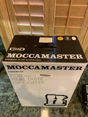 NEW Moccamaster 1.25lt Classic Polished Matt Silver Filter Machines RRP$408