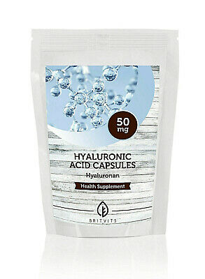 Hyaluronic Acid 50mg 30-60-90-120-180-250-500-200 Tablets UK