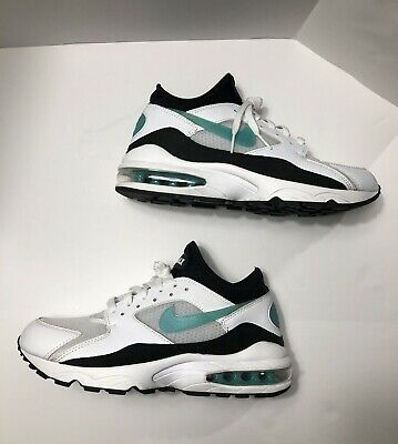 fb65580e0c NIKE Air Max 93 OG Dusty Cactus Mens Sz 8.5 Shoes White Black Blue 306551  107