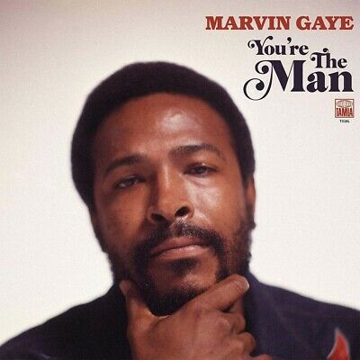 Marvin Gaye You're The Man CD New 2019