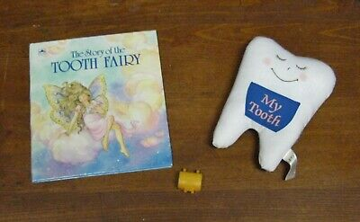 The Story of the Tooth Fairy-Golden Book + Tooth Pillow & Tiny Tooth Saver Chest