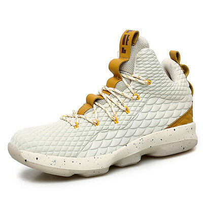 c8bd1fa823207 Mens Basketball Shoes High Top Training Shoes Fashion Athletic Sneakers Big  size