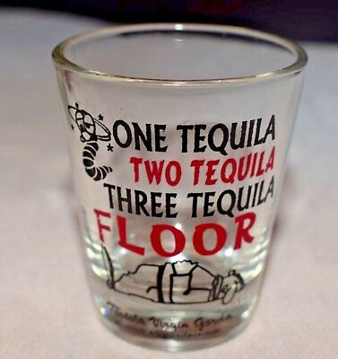 Estate  Shot Glass Tequila, One Tequila, Two Tequila,Three Tequila--Floor & Worm