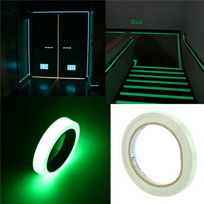 Green Fluorescent Car reflective strip Home Stage Decorations Luminous Tape