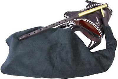 Scottish-made Uillean Bagpipes Practise Set, synthetic. Ideal Beginner's set.