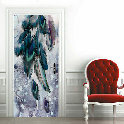 Wall Decals & Stickers Peacock Bird Wall Art Sticker Mural Decal with 3D Effect Self Adhesive FT3