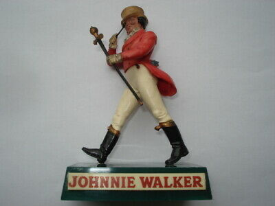 C1960S Vintage Johnnie Walker Scotch Whisky Small Back Bar Advertising Figure