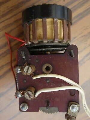 Vintage Smiths Sectric clock movement, (working)