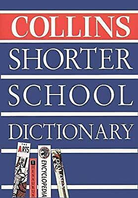 Collins Shorter School Dictionary, , Used; Good Book