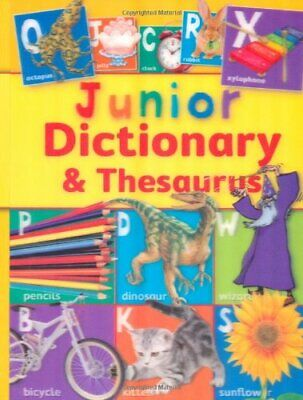 Junior Dictionary and Thesaurus, Susan Purcell, Used; Good Book