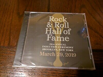 2019 Rock And Roll Hall Of Fame Induction  Cd -  Rare Promo New Sealed