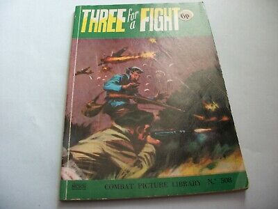 1971` Combat Picture Library comic no. 508
