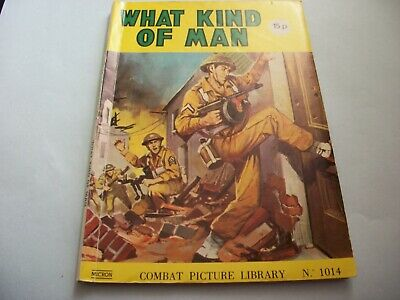 1981` Combat Picture Library comic no. 1014