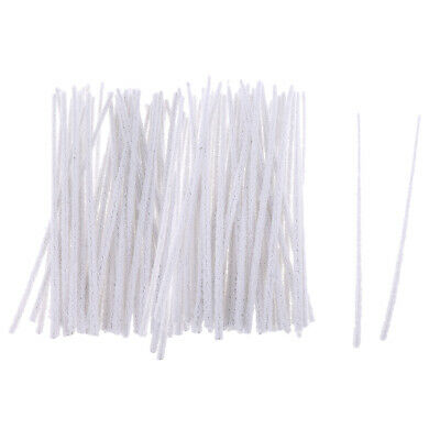 100Pc Cleaning Tool Tobacco Pipe Cleaners Smoking Cotton Intensive White DIY