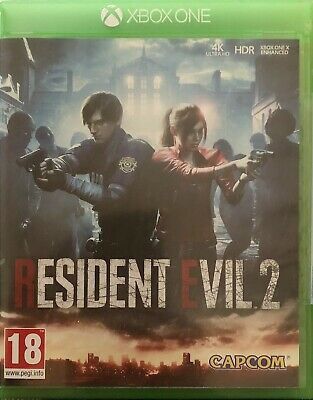 Resident Evil 2 For Microsoft Xbox One Supplied In Original Case (FreePost)