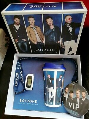 Boyzone VIP Thank You And Goodnight Tour Gift Set. NEW